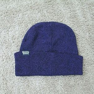Loungefly Accessories - Disney Loungefly Beanie Hat Sleeping Beauty Purple